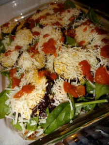 Eggplant & Spinach Parmesan