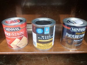 Minwax, Sherwin Williams Stains